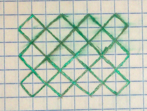 how to draw an octagon on graph paper